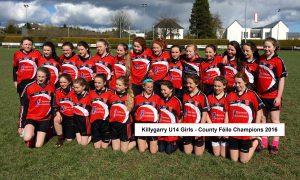 U14 Girls League – Killygarry 4-11, Templeport 0-01