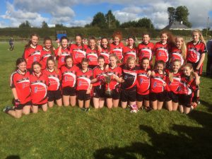 Killygarry U-14 Girls Unbeatable in 2016
