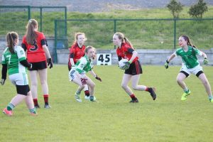 U12 Girls Div 1 win over Lurgan