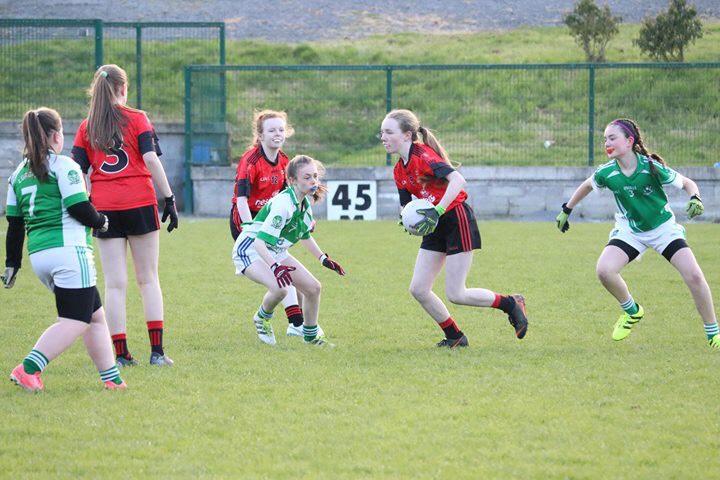 U12 Girls Div 1 win over Lurgan