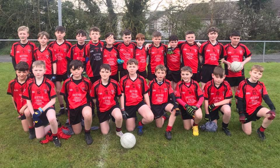 U13 Boys in Thriller with Gaels