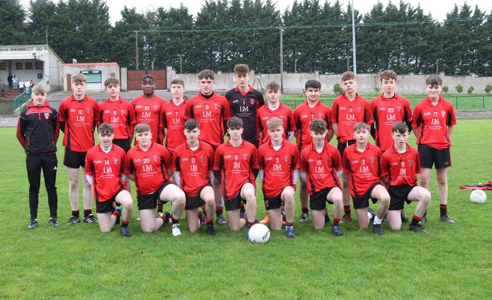 U17s' brave effort against Drumloman
