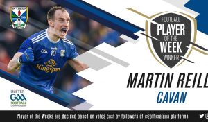 Martin wins GAA Player of the Week!