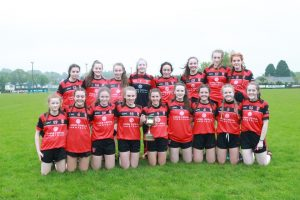 U16 Girls are County League Div 1 Title Winners