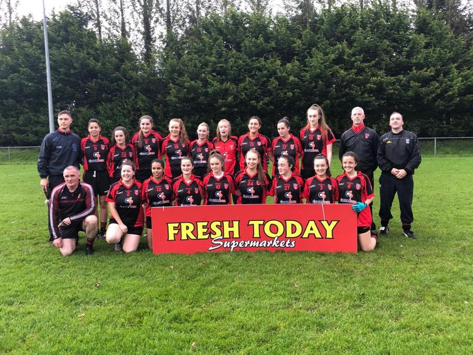Ladies are Junior B County Champions 2019