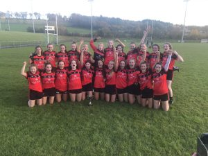 Massive congrats to our Minor Ladies who are County Division 1 Champions!!