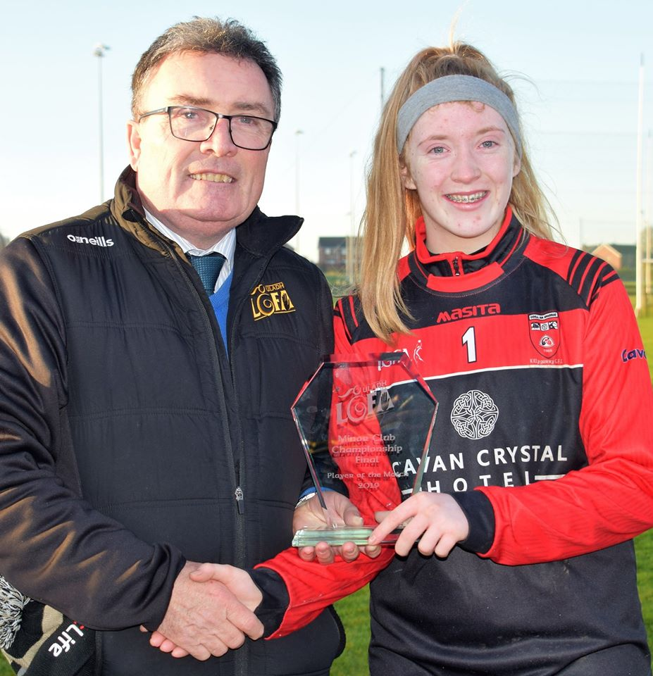 Ulster Final Player of the Match – Congrats Joanne