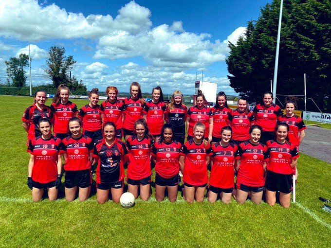 Best of luck to the ladies in the County Championship Final